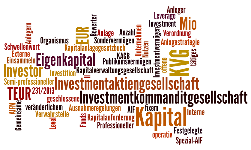 tag cloud KAGB